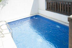 la piscine du grand gite