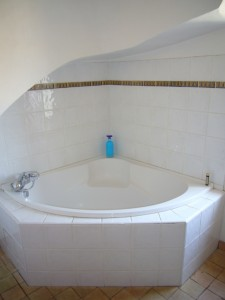 Baignoire d'angle chambre Muscat