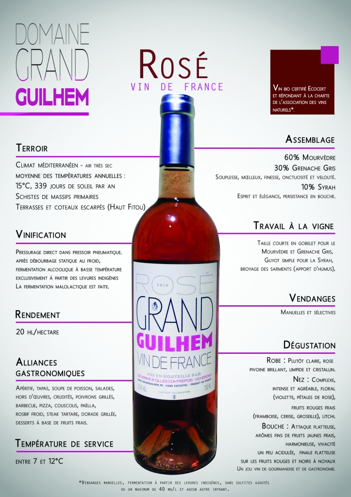 grand guilhem rose